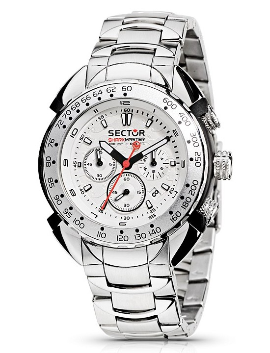 Sector Shark Master Chronograph Watch R3273678045