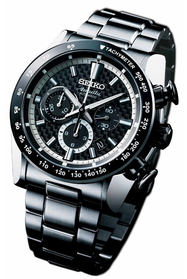 Seiko Ananta Automatic Chronograph Titanium Watch