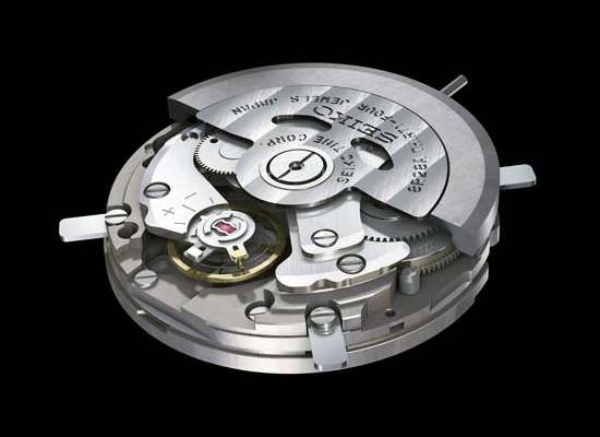 Seiko Caliber 8R28 chronograph movement
