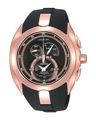 Seiko Arctura Kinetic Chronograph Watch SNL060P1