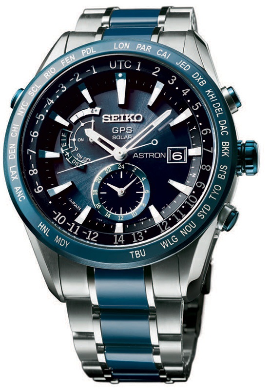 Seiko Astron GMT Solar SAST 019 Watch