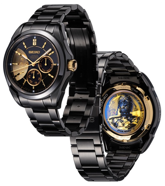 Seiko Star Wars C-3PO Watch