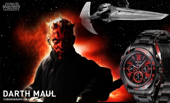 Seiko Star Wars Darth Maul Watch