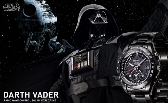 Seiko Star Wars Darth Vader Watch
