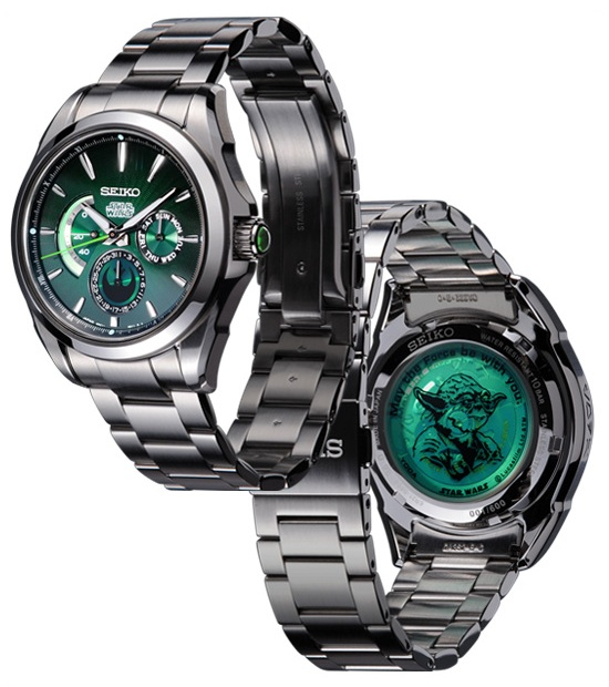 Seiko Star Wars Yoda Watch