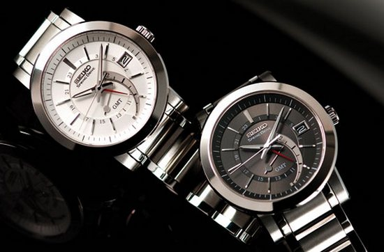 Seiko GMT Spring Drive Watch
