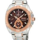 Seiko Velatura Ladies' Chronograph Watch SNDZ20P2