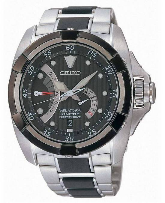 Seiko Velatura Kinetic Direct Drive Watch SRH005P1