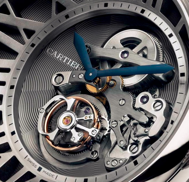 Cartier Cadran Love Tourbillon Watch
