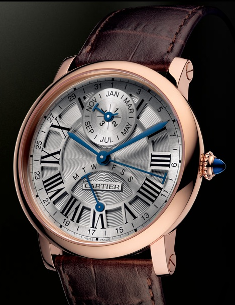 Cartier Rotonde Perpetual Calendar Pink Gold Watch