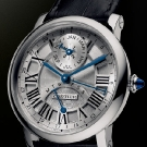 Cartier Rotonde Perpetual Calendar White Gold Watch