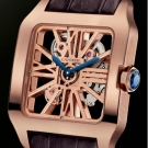 Cartier Santos Dumont Red Gold Watch