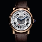 Rotonde De Cartier Annual Calendar Pink Gold Watch
