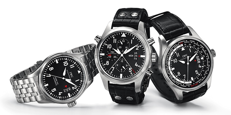 New IWC Pilot's Watches: IW326504, IW377801 and IW326201