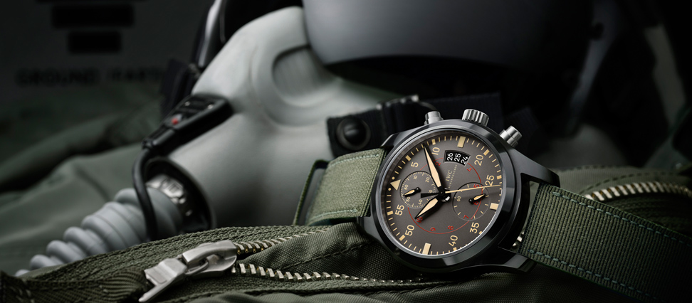 IWC Pilots Chronograph Top Gun Miramar Watch