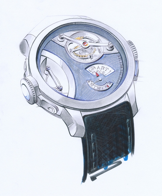 Greubel Forsey Art Piece One Sketch