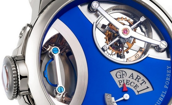 Greubel Forsey Art Piece One Willard Wigan Watch Detail