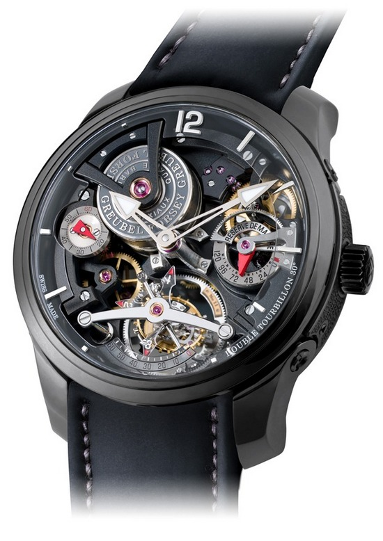 Greubel Forsey Double Tourbillon Technique Black Watch