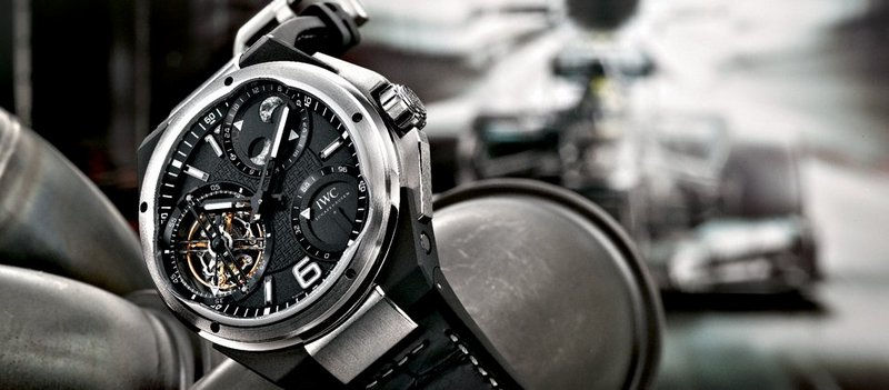 IWC Ingenieur Constant Force Tourbillon Watch