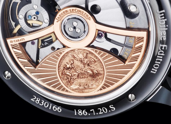 Jaeger-LeCoultre Master Grande Tradition Tourbillon Cylindrique Watch Detail
