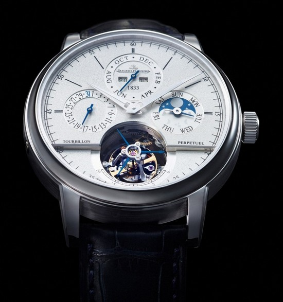 Jaeger-LeCoultre Master Grande Tradition Tourbillon Cylindrique Watch