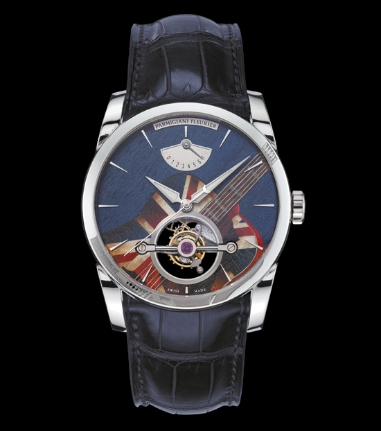 Armigiani Fleurier Woodrock Tonda Tourbillon Watch