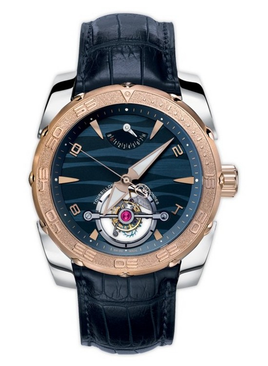 Parmigiani Pershing Abyss Tourbillon Watch