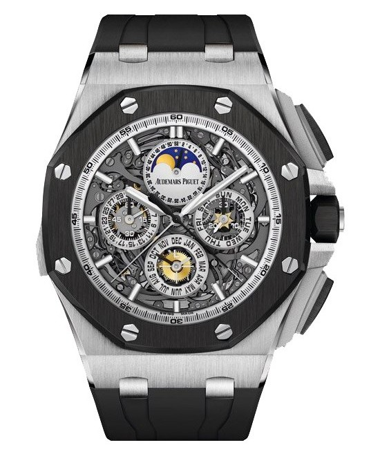 Audemars Piguet Royal Oak Offshore Titanium Grand Complication Watch Front