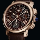 Cartier Rotonde Perpetual Calendar Chronograph Rose Gold Chocolate Watch