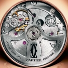 Cartier Rotonde Perpetual Calendar Chronograph Watch Case Back