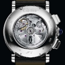 Cartier Rotonde Perpetual Calendar Chronograph White Gold Watch Case Back