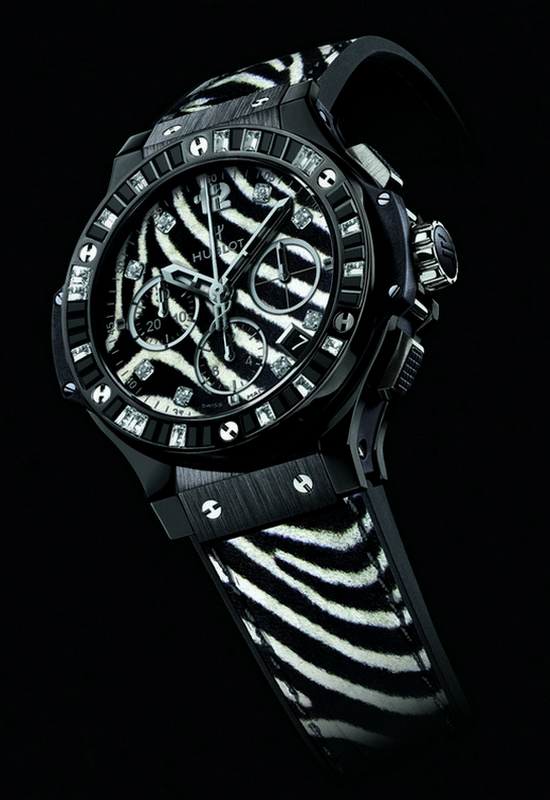 "Hublot Big Bang ""Zebra Bang"" Watch"