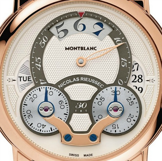 Montblanc Nicolas Rieussec Rising Hours Watch Dial