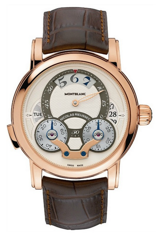 Montblanc Nicolas Rieussec Rising Hours Watch Front