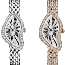Cartier Crash Diamond Set Ladies Watches