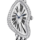 Cartier Crash Diamond White Gold Watch
