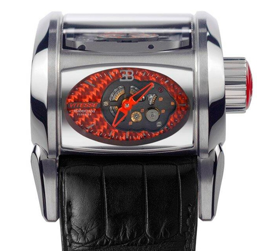 Parmigiani Fleurier Bugatti Vitesse Watch Orange