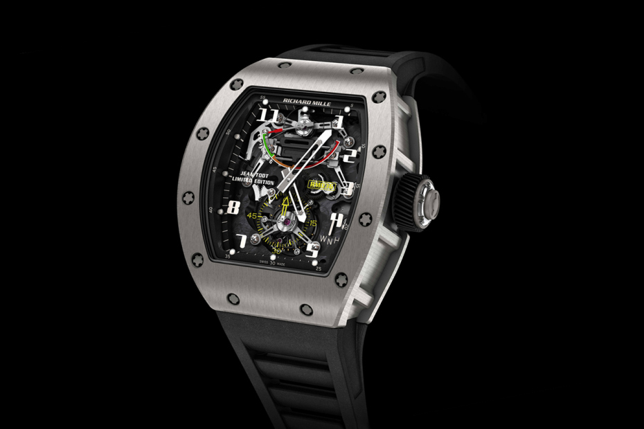 Richard Mille RM 036 Tourbillon Jean Todt Limited Edition Watch