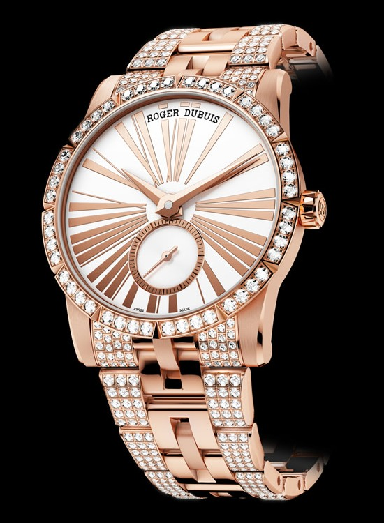 Roger Dubuis Excalibur 36 Pink Gold Watch