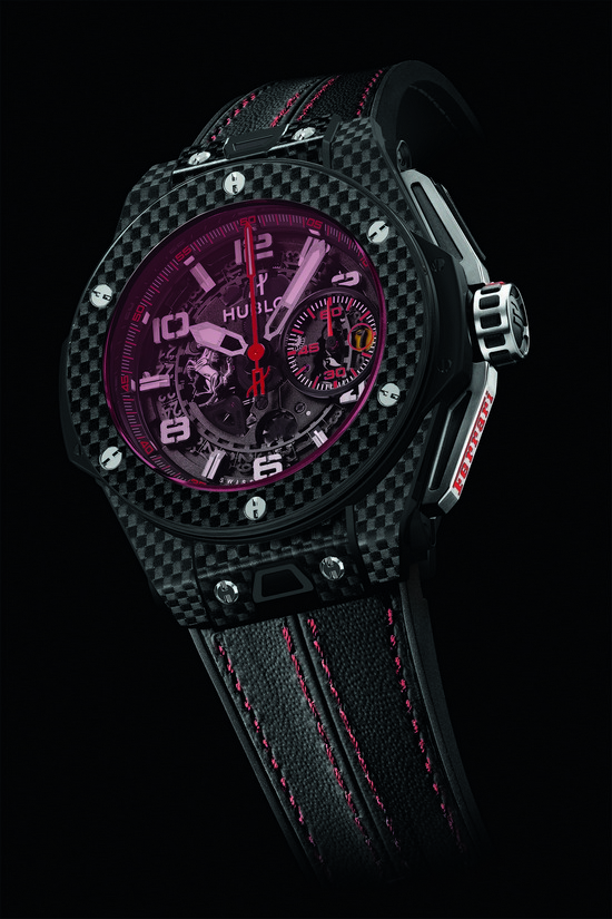 Hublot Big Bang Ferrari Red Magic Carbon Watch