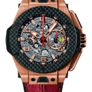 Hublot Big Bang Ferrari King Gold Carbon Watch Red Strap
