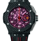 Hublot Big Bang Ferrari Red Magic Carbon Watch Black Strap