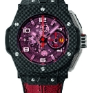 Hublot Big Bang Ferrari Red Magic Carbon Watch Red Strap