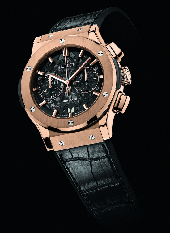 Hublot Classic Fusion Chrono Aero King Gold Watch