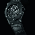 Hublot Classic Fusion Extra-Thin Skeleton Black Ceramic Watch