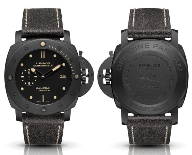 Panerai PAM 508 Luminor Submersable Ceramica Watch