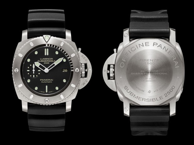 Panerai PAM 364 Luminor Submersible Titanio Watch