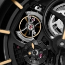 Panerai PAM 446 Tourbillon GMT Pocket Watch Detail