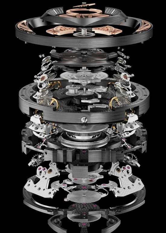 Roger Dubuis Excalibur Quatuor - 590 Components of Movement