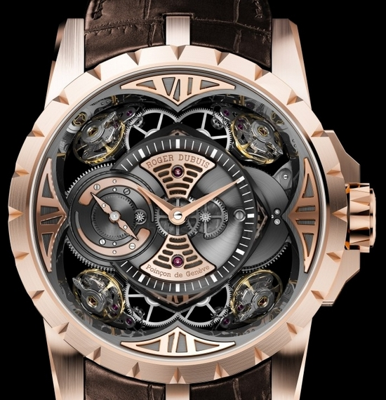 Roger Dubuis Excalibur Quatuor in Rose Gold